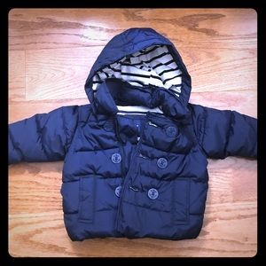 Baby Gap Puffer Jacket with Hood 0-6 Months